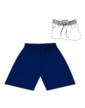 BERMUDA SPORT  Navy Bleu